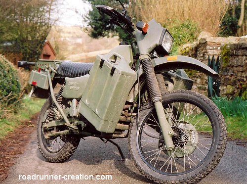Kawasaki Mm Diesel Military Motorcycles For Sale